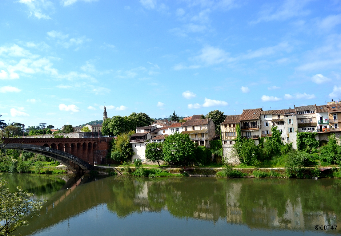 Short bike tour in Lot et Garonne
