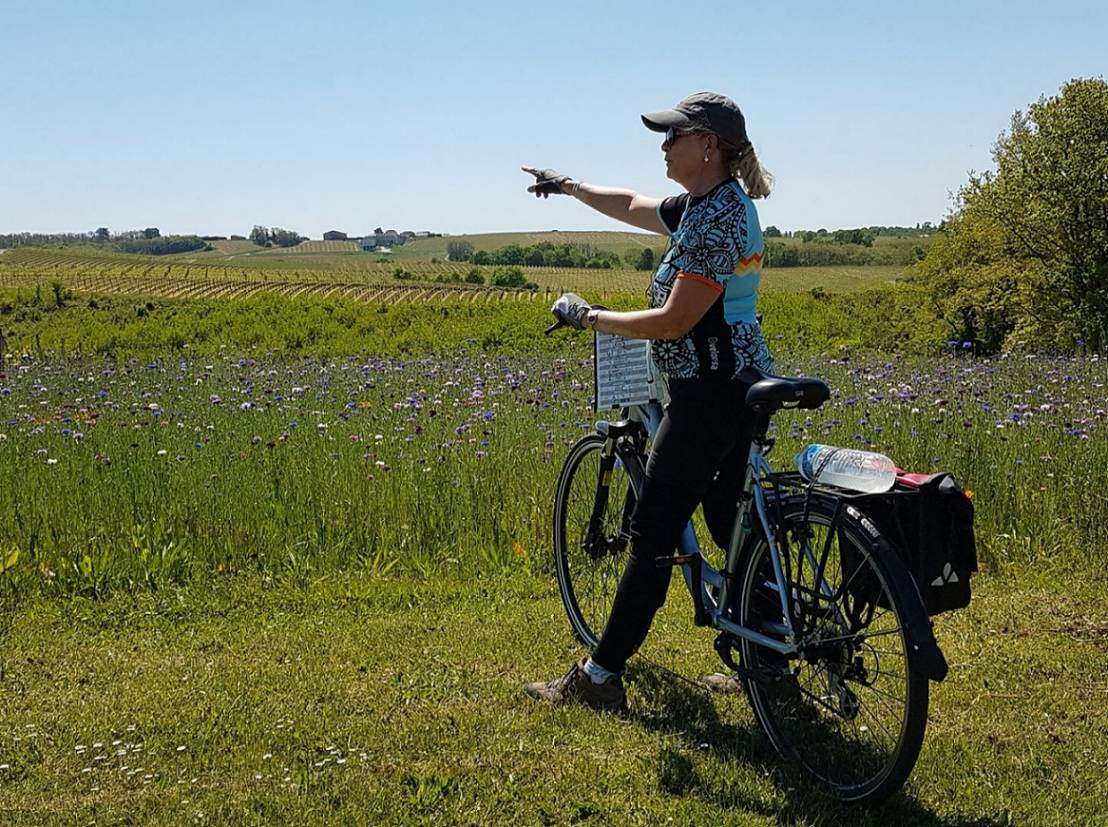 North-west of Bordeaux by bike. Great lakes, ocean and estuary!