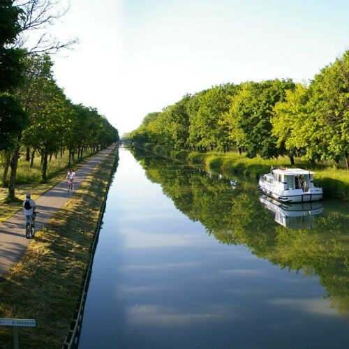 Le Canal du Midi à vélo de Montpellier à Toulouse