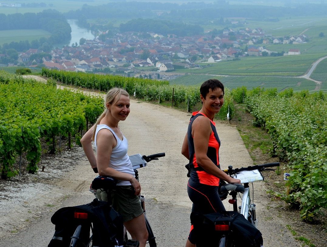 Cycling holiday in Champagne Vineyards