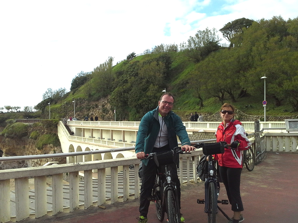 Short bike tour in Basque Country