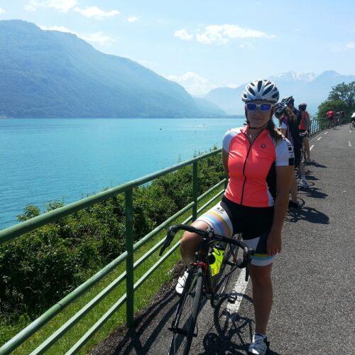 Randonnée à vélo dans les Alpes : Les 3 lacs... facile !