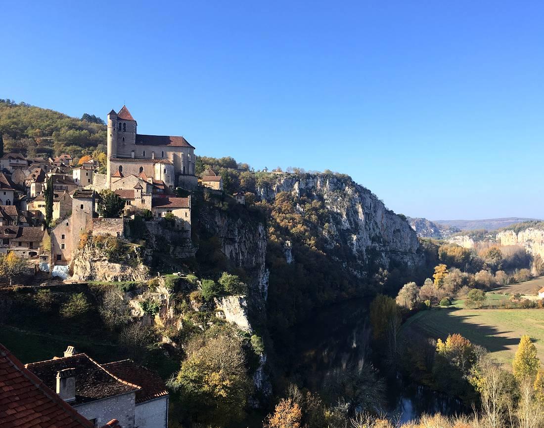De Bordeaux à Cahors à vélo. Vallée de la Garonne et vallée du Lot