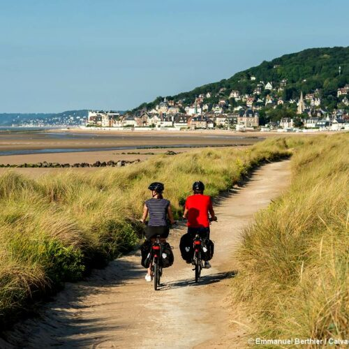 Le Calvados à vélo de Bayeux à Honfleur en Normandie