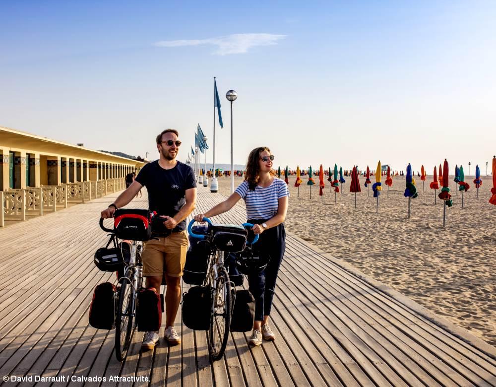 Le Calvados à vélo, de Bayeux à Honfleur en Normandie