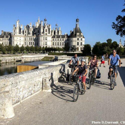 La vallée de la Loire à vélo de Blois à Tours. Vacances à vélo relax