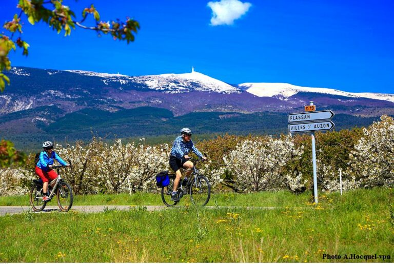 cycling in Provence - restaurant on the bike tour