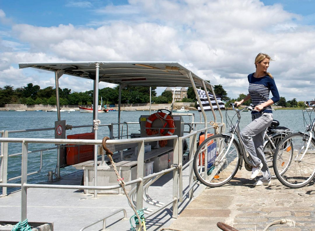 Le tour du Golfe du Morbihan à vélo. Voyage en Bretagne Sud