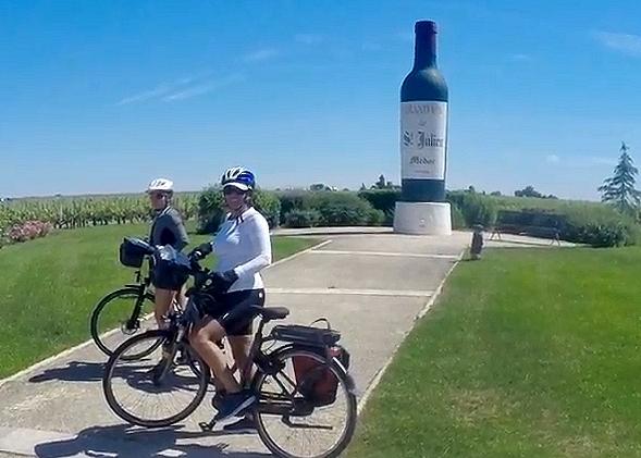 LE (grand) TOUR DE GIRONDE à Vélo